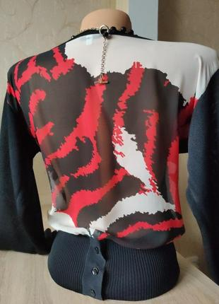 Блуза ferre вискоза натуральный шелк винтаж