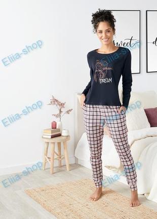 Женская пижама домашний костюм esmara германия