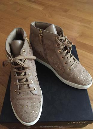 Сникерсы-ботиночки loriblu 38