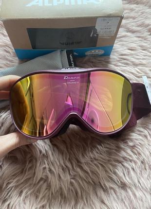 Лижні окуляри alpina