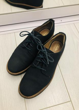 Clark's кожаные туфли дерби