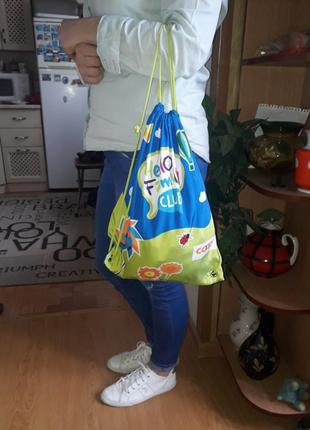 Рюкзак/сумка для сменки/текстильная сумочка