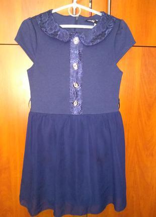 1bb0a3840ad Мега-блестящее платье для девочки 4-6 лет