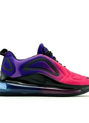 Женские кожаные кроссовки🔥nike air max 720 violet red🔥