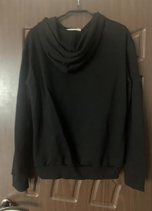 Худи женское трикотажное толстовка свитшот кофта с капюшоном5 фото
