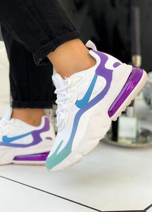 "Air max 270 react ""white/light/blue violet"""