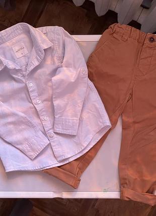 Костюм (брюки и рубашка) reserved 92
