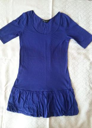 Платье трикотажное фиолетовое dorothy perkins