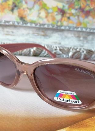 Элегантные розовые женские солнцезащитные очки