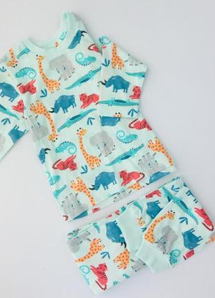Дитяча хлопкова піжама пижама детская маталан matalan