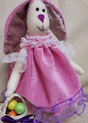 Пасхальный кролик, пасхальный заяц, пасхальный декор