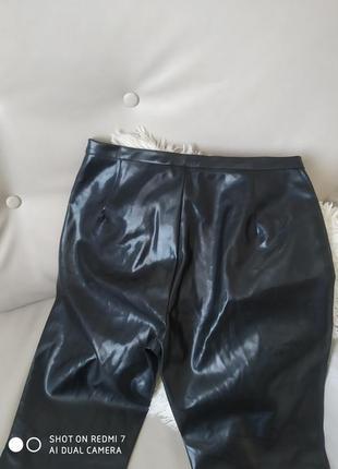 Стильні брендові штани демісезон кожа