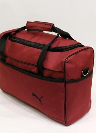 Сумка, сумка дорожная, ручная кладь, сумка на чемодан, женская сумка, бордо