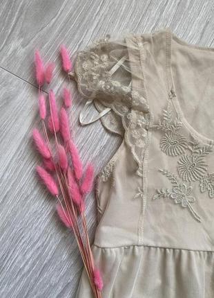 Милое кружевное платье asos