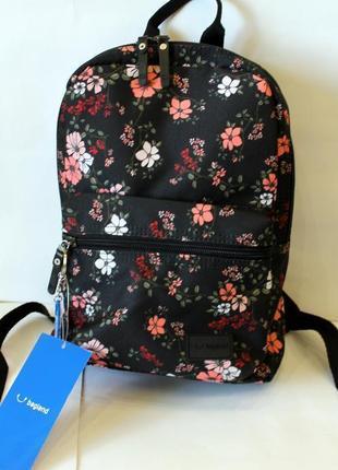 Рюкзак, ранец, городской рюкзак, женский рюкзак, цветы, маленький рюкзак