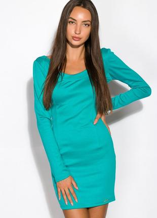 Платье женское ассорти 120p151 бирюзовый (7 цветов)
