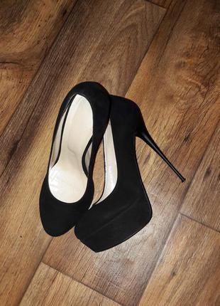 Туфли замшевые marco pini (италия)в идеальном состоянии!