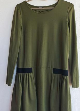 Платье reserved из плотного трикотажа