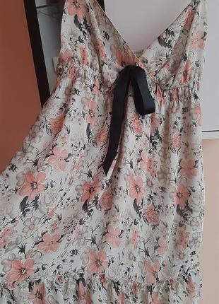 Платье легкое, шифоновое