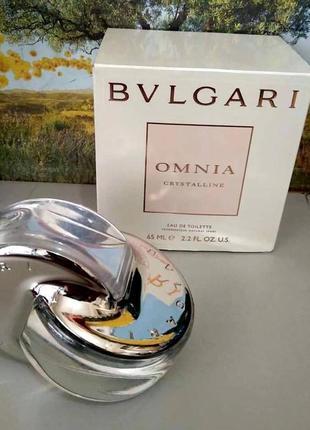 Bvlgari omnia crystalline оригинал_eau de toilette 10 мл затест_туал.вода