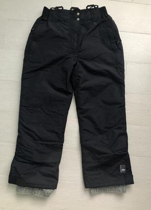 Лыжные теплые штаны quechua р.160 см