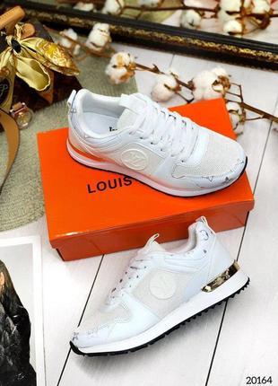 Кожаные кроссовки из натуральной кожи качественные люкс стильные тренд