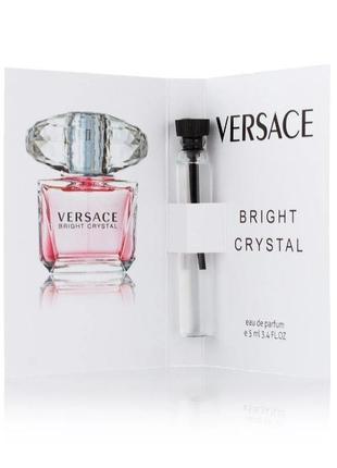 Парфюм с феромоном versace bright crystal (5 мл) -пробник