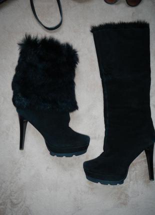 Зимние сапоги-ботинки 2 в 1