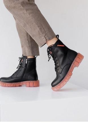 Боти черевики весна кожа
