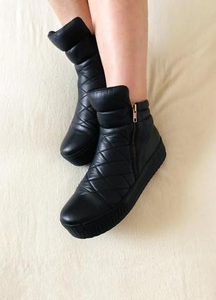 Красивые кожаные ботинки, полуботинки, сапоги, сапожки, сникерсы.