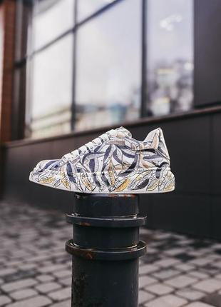Alexander mcqueen custom кроссовки