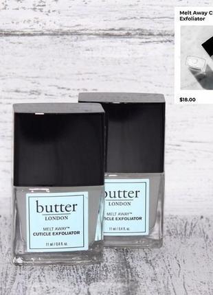 Butter london cuticle exfoliator средство для удаления кутикулы