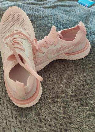 Nike epic react flyknit, кросовки для бега, беговые кроссовки