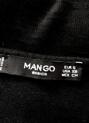 Платье чёрное mango классика базовое5 фото