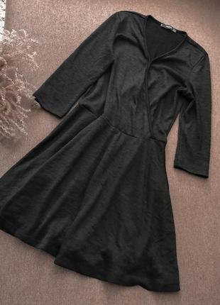 Платье чёрное mango классика базовое3 фото