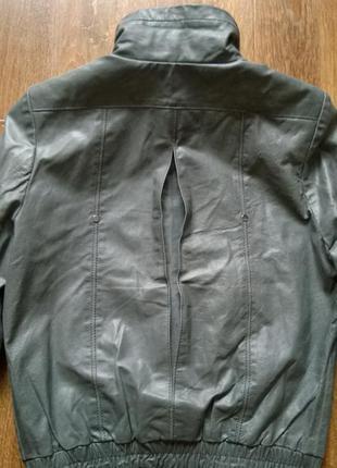 Blend she кожаная натуральная курточка Blend She 49d91759caecc