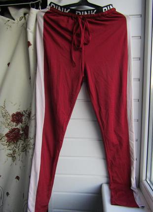 Спортивные штаны -лосины /65%cotton.35%polyester