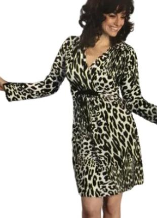 Платье леопардовое женское ringella вискоза германия 42,44,50,52,54