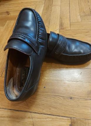 Мужские туфли emilio salvatini стелька 25.5