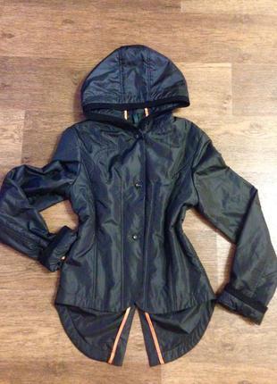 Модная ветровка куртка с капюшоном cop. copine р44