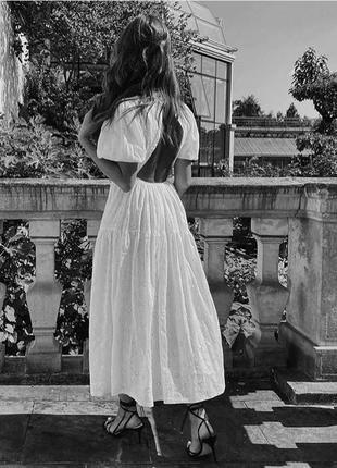 Zara платье с вышивкой, s7 фото
