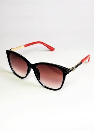 Солнцезащитные очки женские 5331 черно-красные