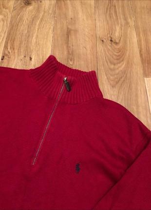 Кофта / свитер на замке polo ralph lauren