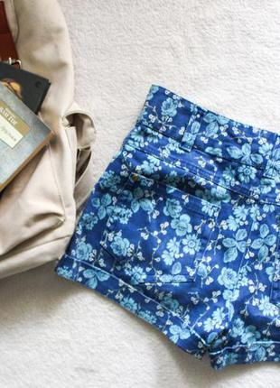Короткий шорты в цветочек denim & co