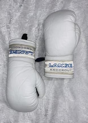 Женские кожаные боксёрские перчатки