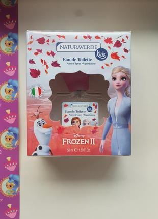 Дитячні італійські парфуми ельза frozen!!