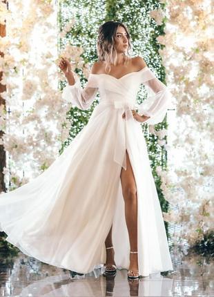 Неймовірна біла сукня. модель 2021!!!
