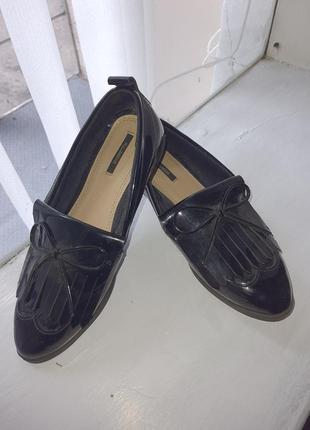 Лоферы pull& bear туфли