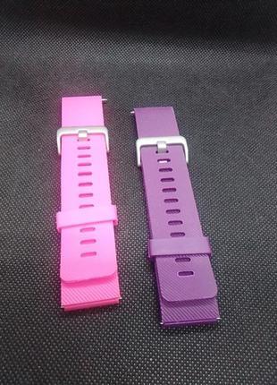 Набор силиконовые браслетов для часов