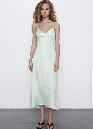 Новое платье zara.